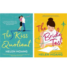 Book covers for The Kiss Quotient and The Bride Test