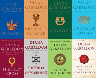 Outlander series covers