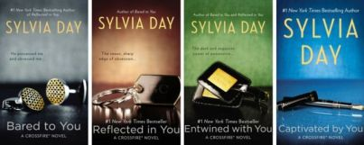 Bared to You series book covers