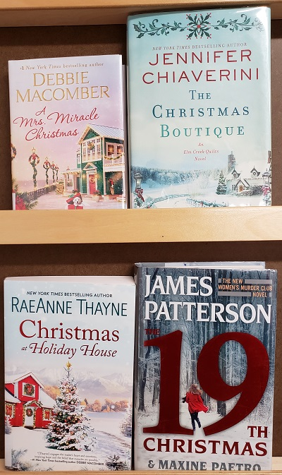 Four books of Christmas fiction
