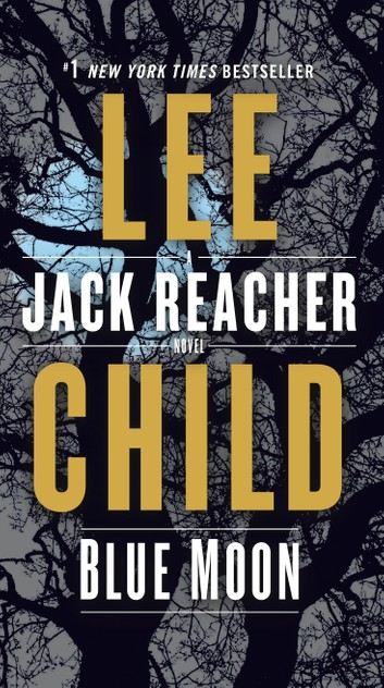 Blue Moon by Lee Child book cover