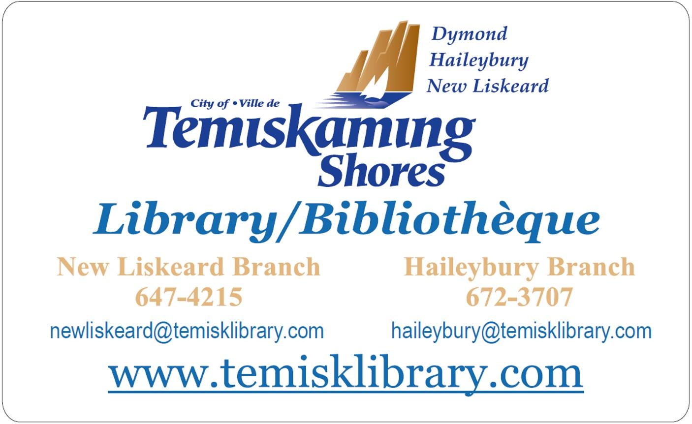TSPL library card
