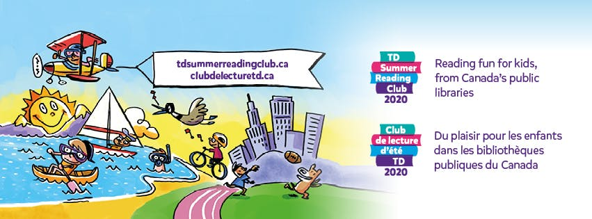 Picture to promote TD Summer Reading Club