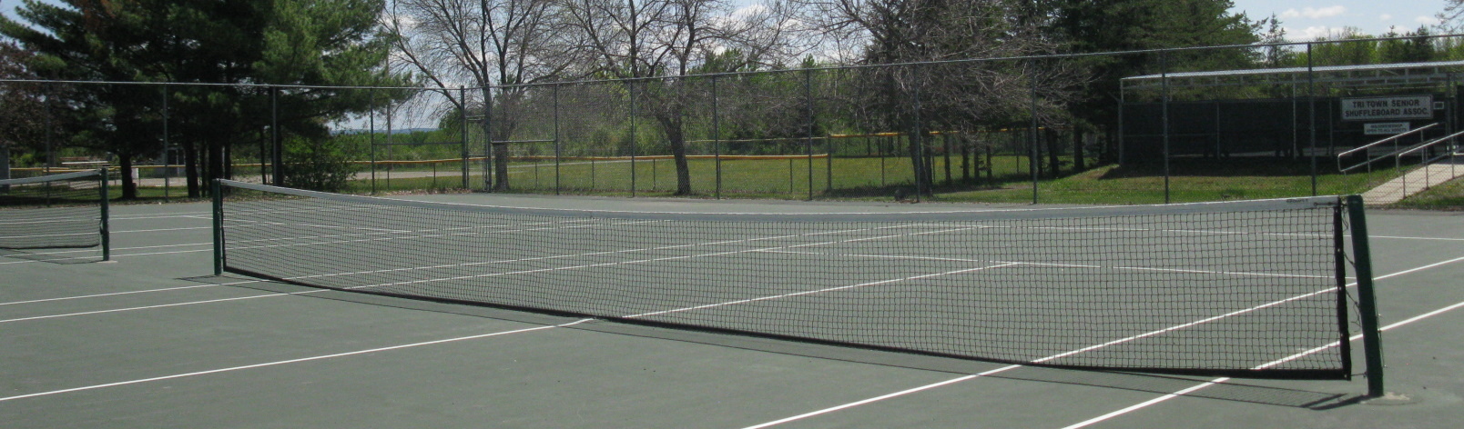 Tennis Court in Haileybury